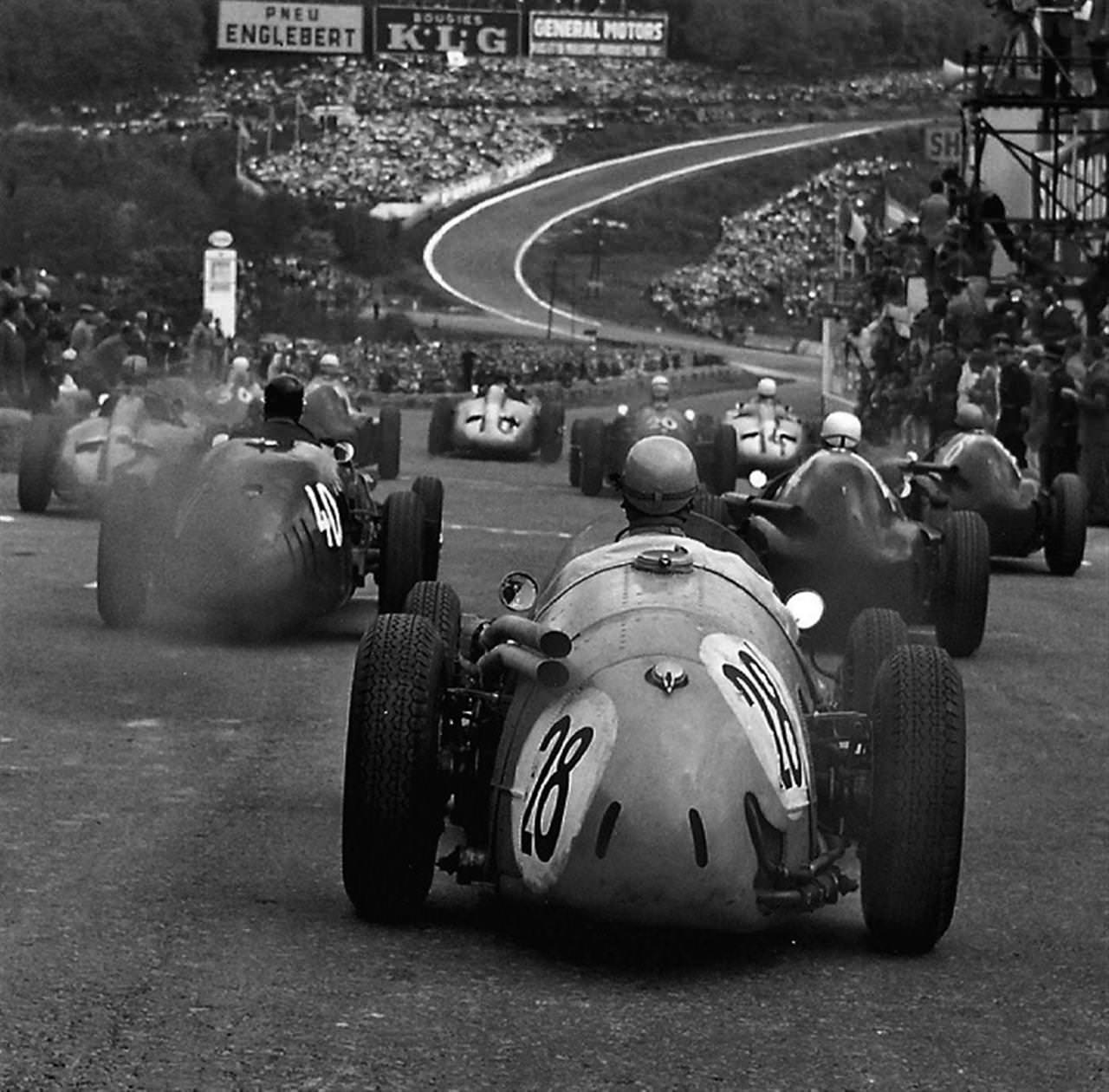 Eau Rouge in Spa-Francorchamps