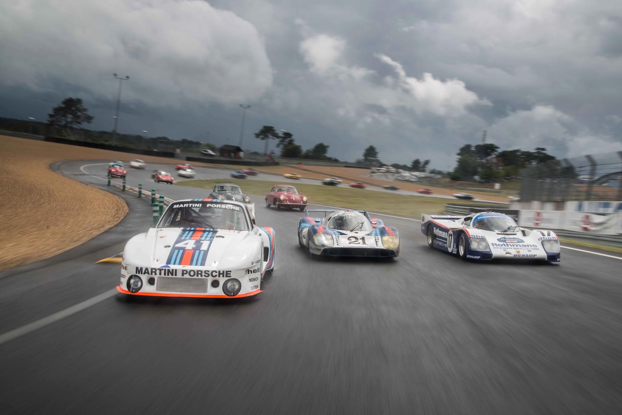Le Mans Classic starring Porsche